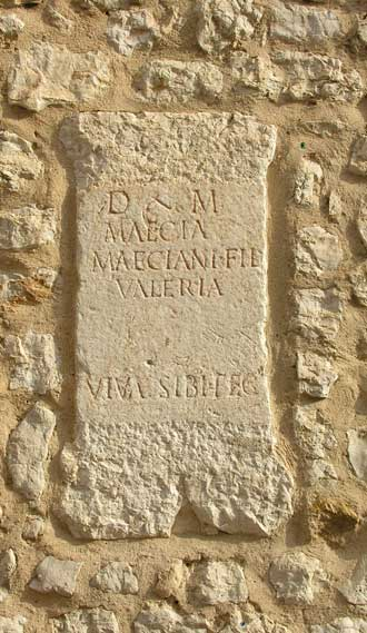Vence.-Inscription.-P.-Verl