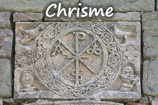 Chrisme symbole chrétien