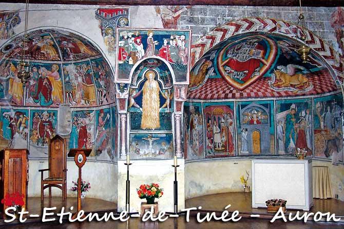 Saint-Etienne-de-Tinée et Auron à visiter (06)
