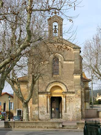 Brue-Auriac.-Eglise
