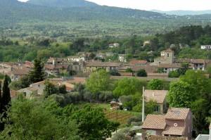 Rougiers;-Village.-P.-Verli