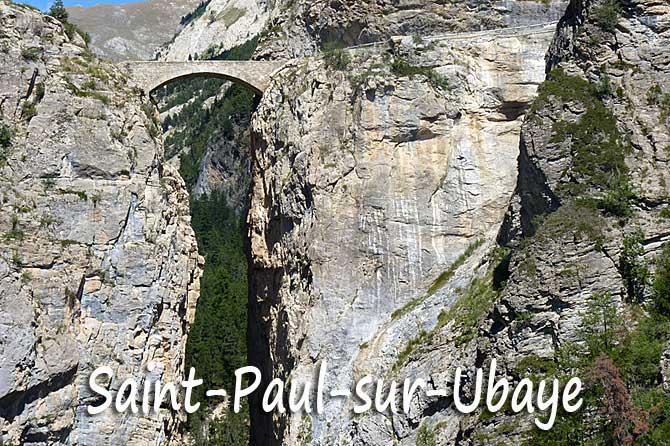 Saint-Paul-sur-Ubaye à visiter (04)