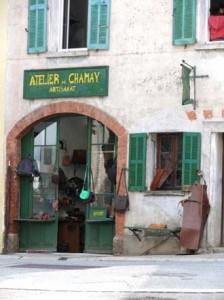 Comps-sur-Artuby.-Arisanat.