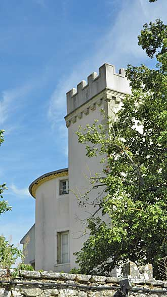 Ollières.-Château.P.-Verlin