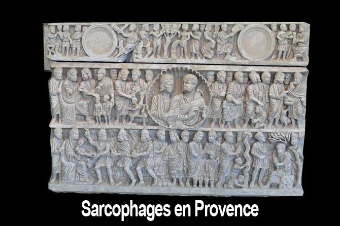 Sarcophages en Provence