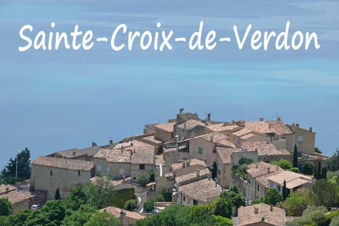 Sainte croix du verdon visiter 04 provence 7 - Office du tourisme sainte croix du verdon ...