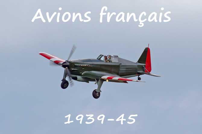 Avions Français Guerre 1939-45 En Provence