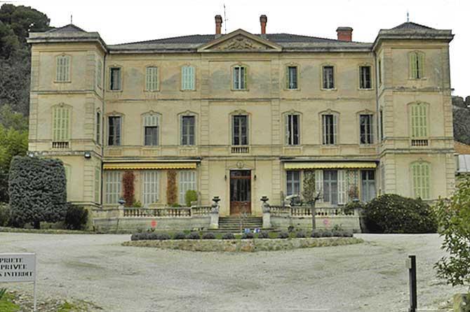 Lamanon.-Château.-PV