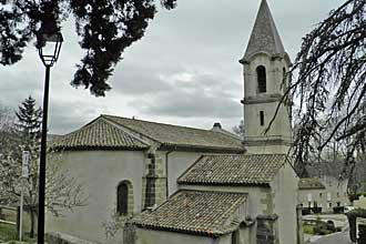 Lamanon.-Eglise.-PV