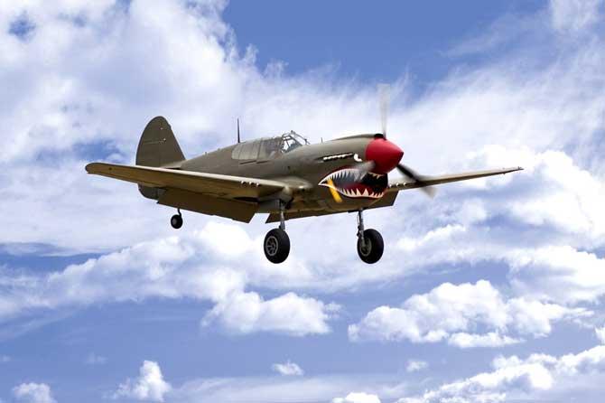 Curtis-P-40-Fotolia