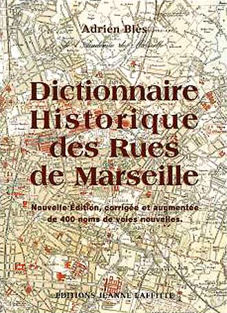 Dictionnaire-rues-Marseille