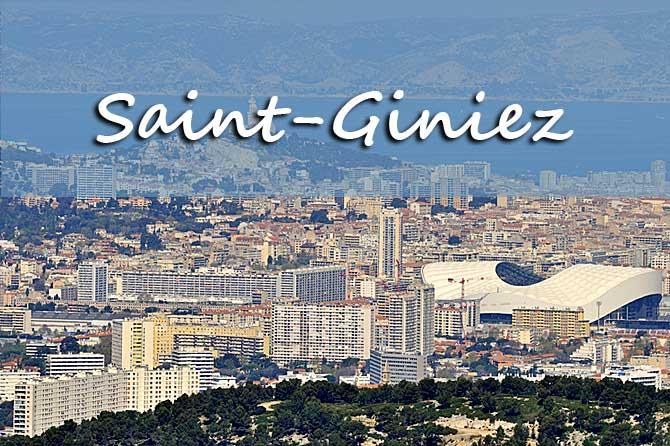 Saint giniez quartier village visiter provence 7 - Magasin de meuble marseille boulevard national ...
