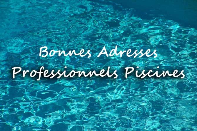 Bonnes Adresses Professionnels De La Piscine  Provence
