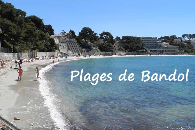 Plages de bandol visiter 83 provence 7 - Plage la plus proche de salon de provence ...