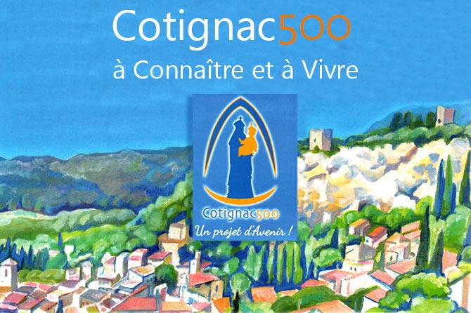 Cotignac 500 à Connaître et à Vivre
