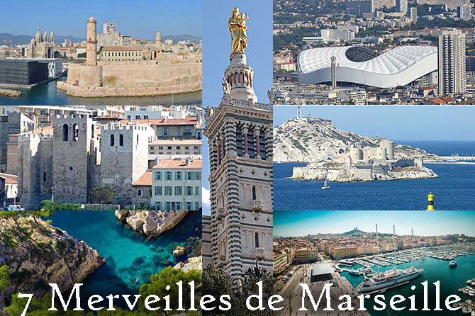 Top 7 Merveilles de Marseille