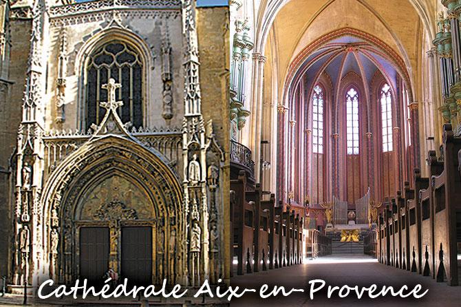 Cathédrale Saint-Sauveur Aix-en-Provence à visiter