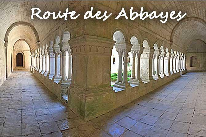 Route des Abbayes en Provence