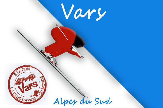 Vars Station dans les Alpes du Sud à visiter