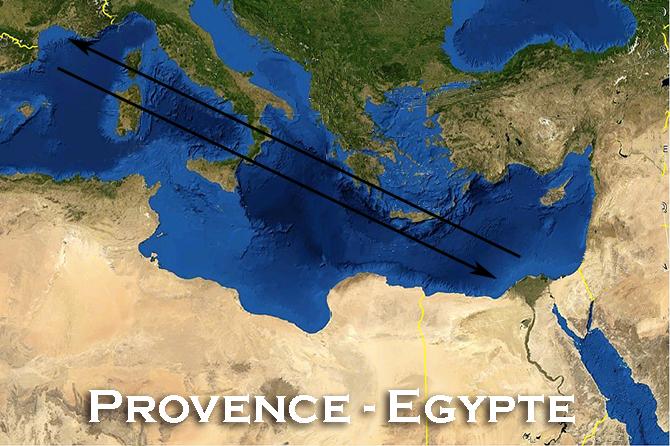 Liens Provence – Egypte : histoire, sites, célébrités…