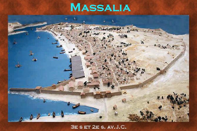 Massalia, Naissance de la Cité grecque de Marseille