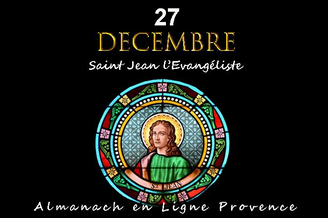 27 Décembre en Provence Saint Jean