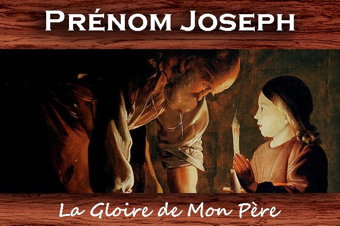Prénom Joseph et Joseph Célèbres