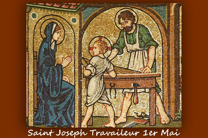 1er Mai. Saint Joseph Travailleur